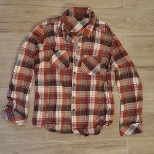 Merrell Large Flannel Button Up Shirt